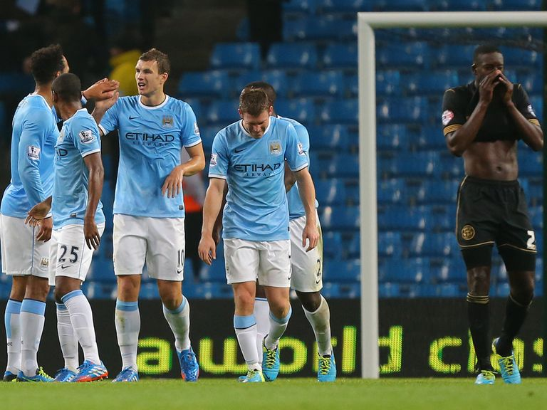 Manchester City can make it two wins from two in Europe