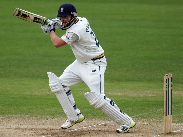 Mark Stoneman: Fell four runs short of a century for Durham