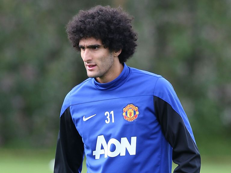 Marouane Fellaini: Struggling for form at Old Trafford