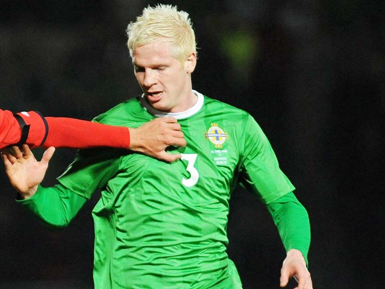 Ryan McGivern: Norther Ireland defender has a knee injury