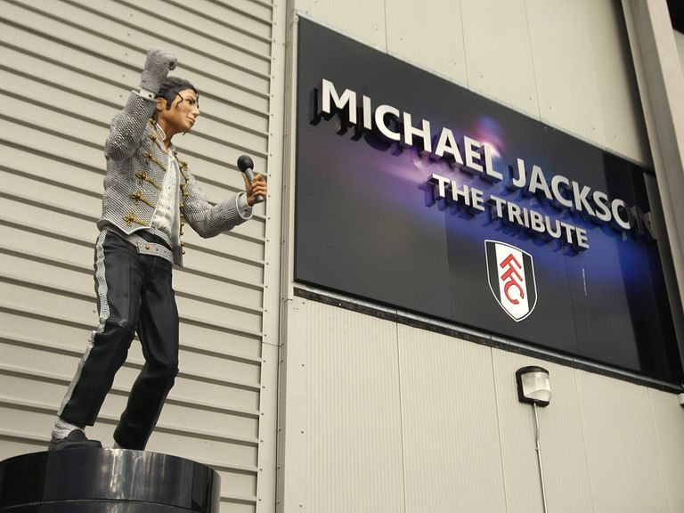 The Michael Jackson statue is leaving Craven Cottage.