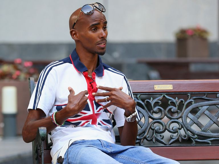 Mo Farah: Favourite with the firms in the without Murray market