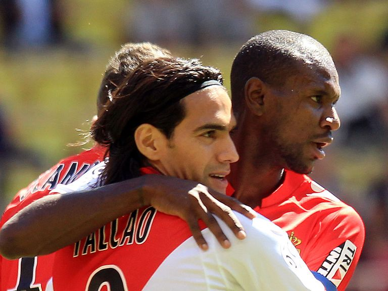 Radamel Falcao scored the only goal for Monaco