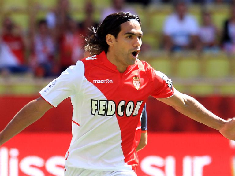 Radamel Falcao: Joined Monaco in the summer