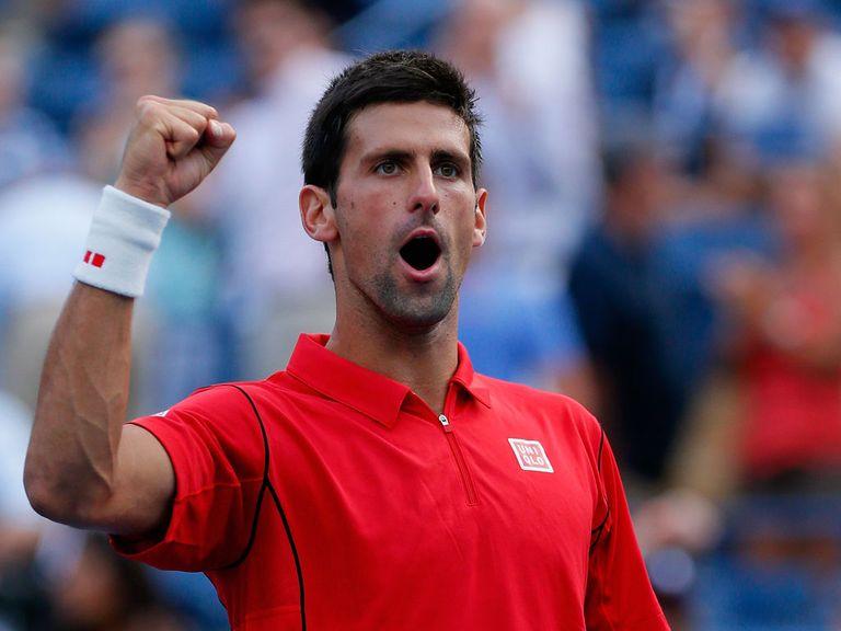 Novak Djokovic: Claimed a simple victory