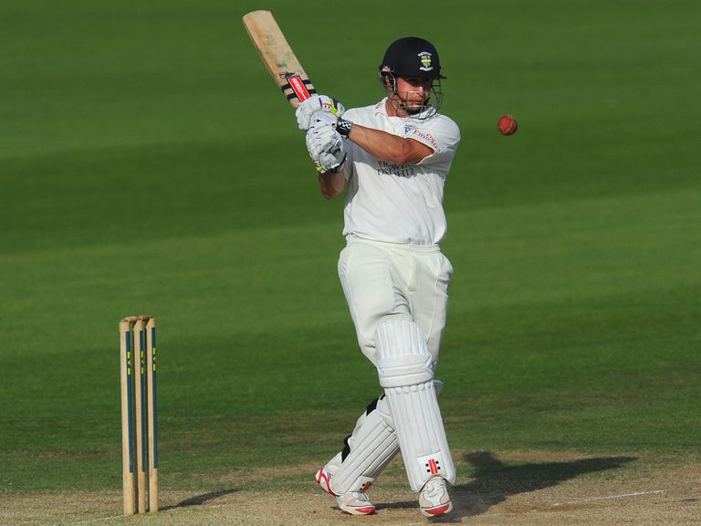 Phil Mustard hit a crucial 57 not out for Durham