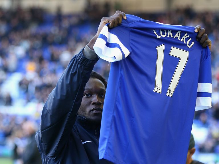 Romelu Lukaku: On loan at Everton for the season