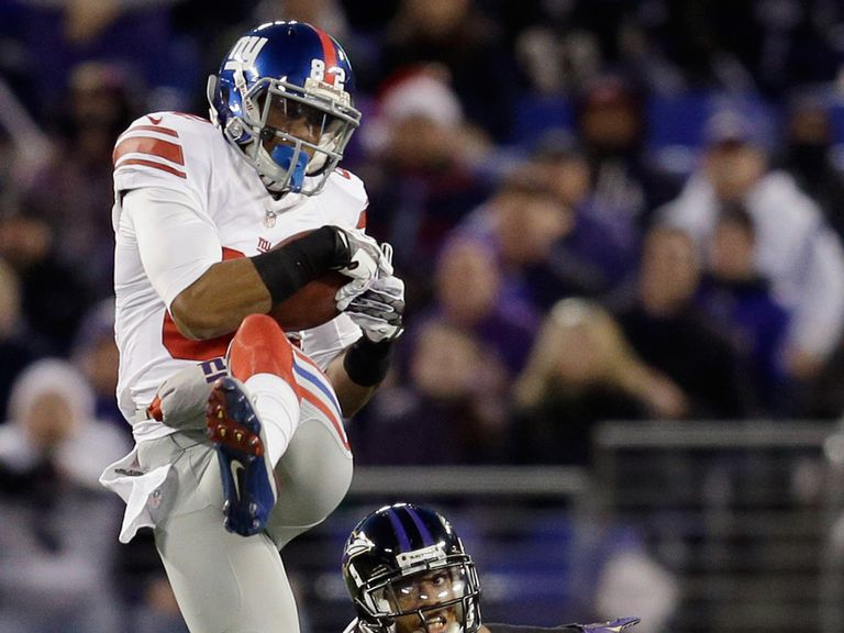 The sure-handed Rueben Randle looks a good bet this weekend
