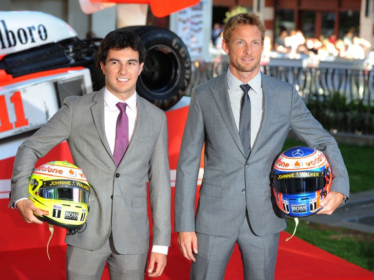 Sergio Perez and Jenson Button are set to stay at McLaren.