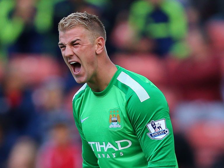 Joe Hart: Wants fans to behave at Manchester derby