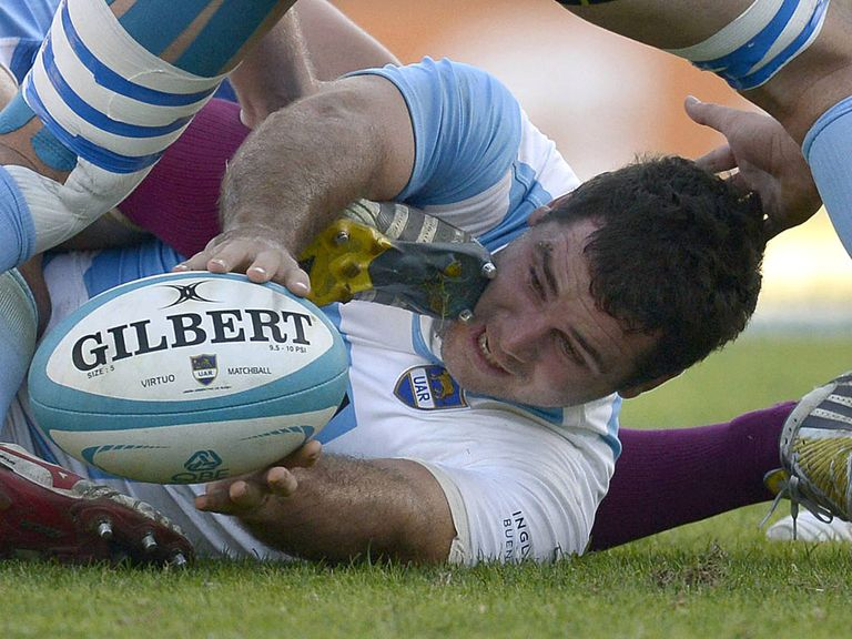 Tomas Leonardi: Has joined Edinburgh on a three-month deal