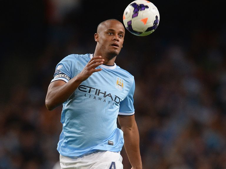 Vincent Kompany: Still out with a thigh problem