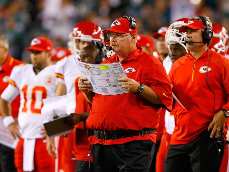 Andy Reid masterminded Kansas City Chiefs' success over the Philadelphia Eagles