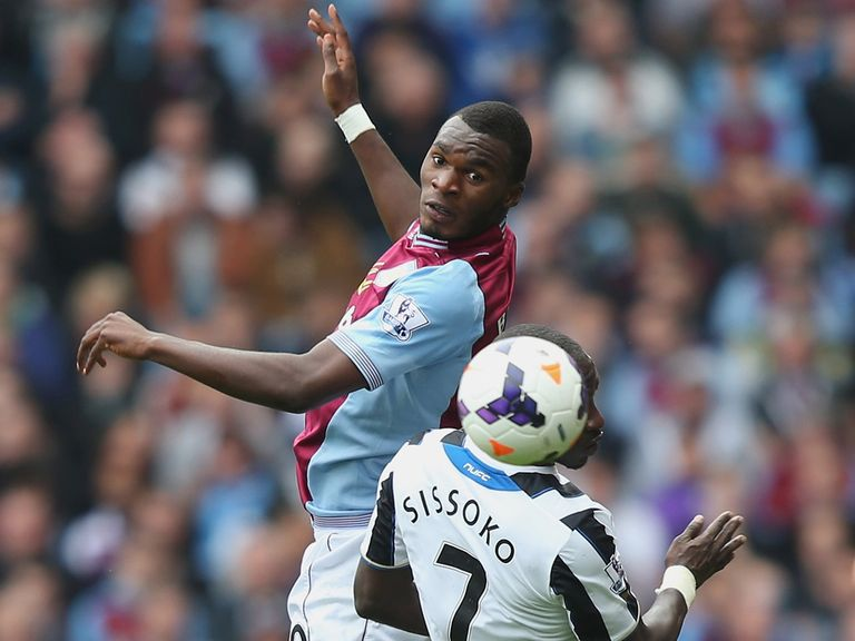 Christian Benteke: Could return to the Villa side after injury