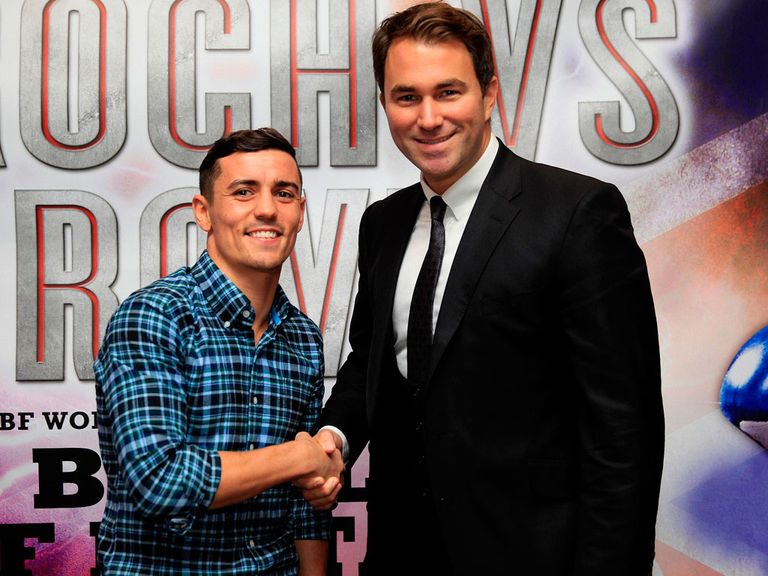 Anthony Crolla: Has linked up with promoter Eddie Hearn (pic courtesy of Lawrence Lustig).
