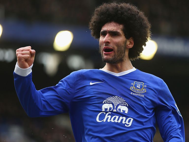Fellaini: Joined Manchester United on deadline day