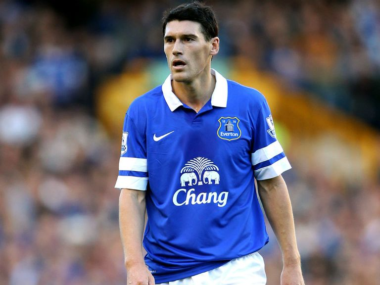 Gareth Barry: On loan at Manchester City