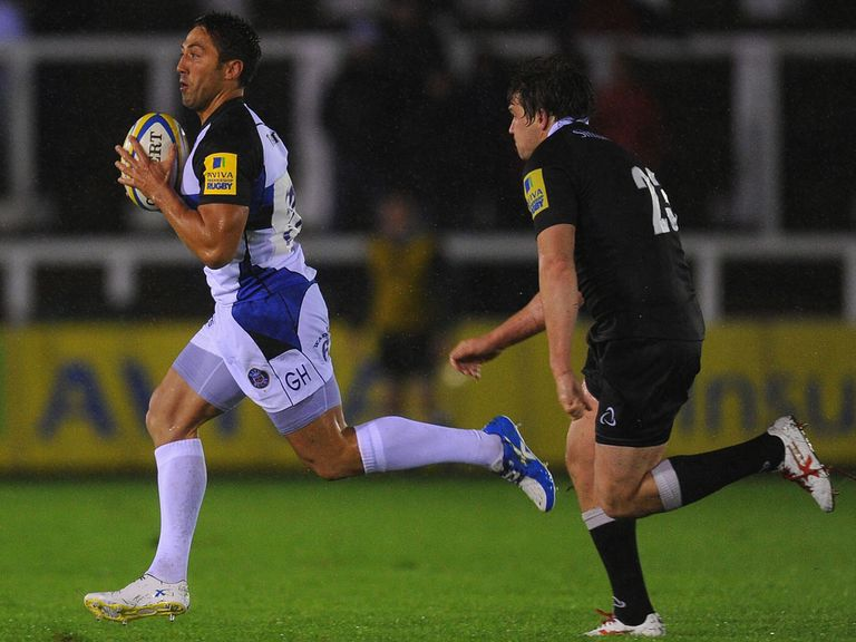 Gavin Henson: Has extended his deal with Bath