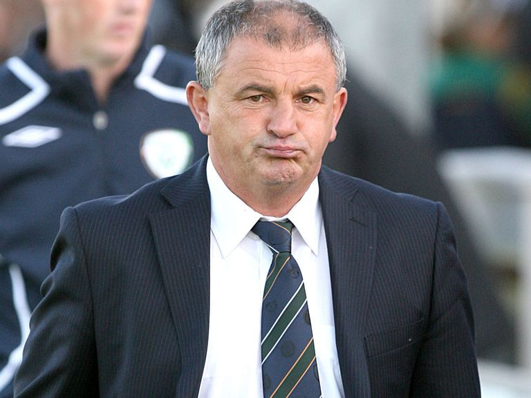 Noel King: In charge of Republic of Ireland