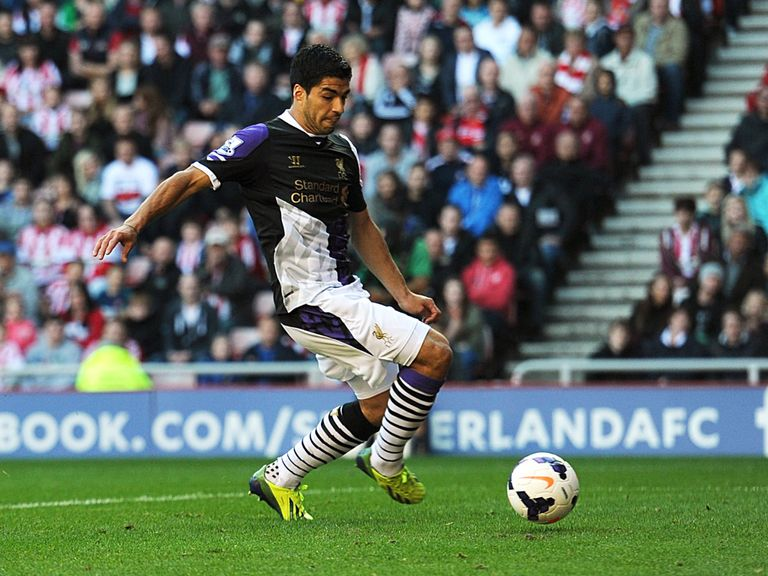 Suarez: Two-goal hero for Liverpool