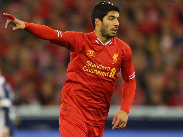 Suarez: Aiming to be back for Old Trafford clash
