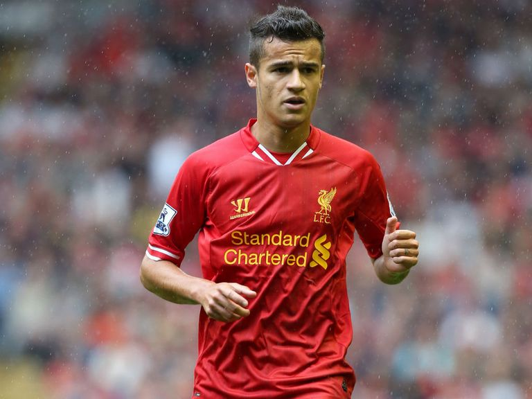 Coutinho: On the sidelines for Liverpool