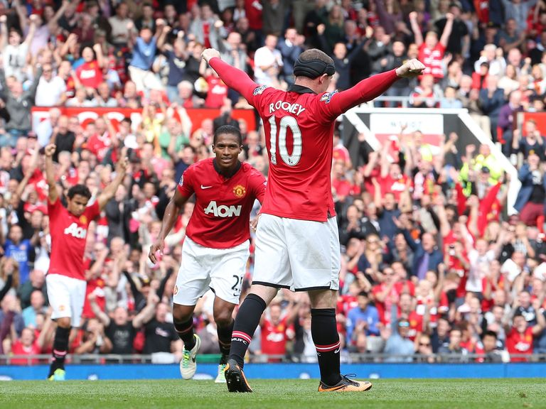 Wayne Rooney's goal capped a 2-0 victory for United