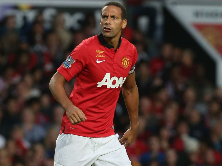 Rio Ferdinand: Out of contract at the end of the season