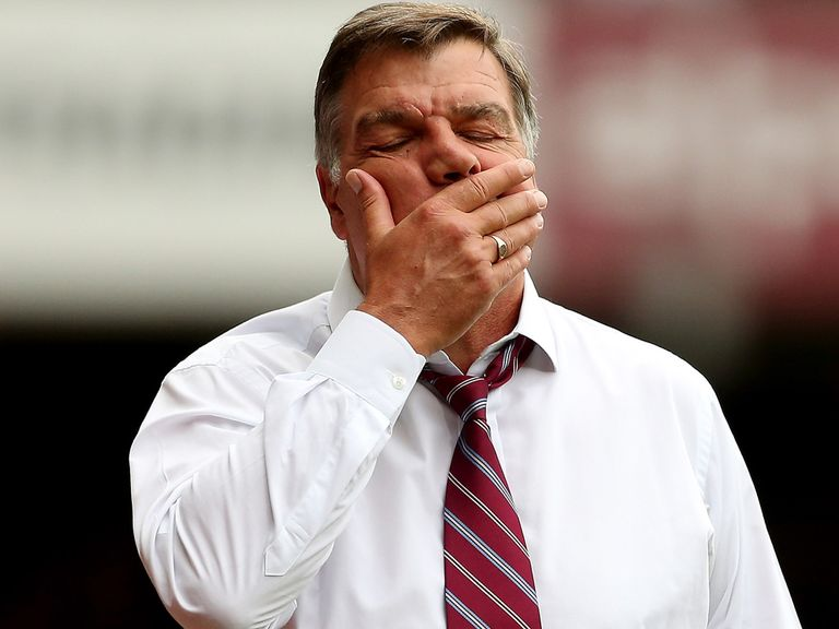Sam Allardyce: Has concerns ahead of the winter