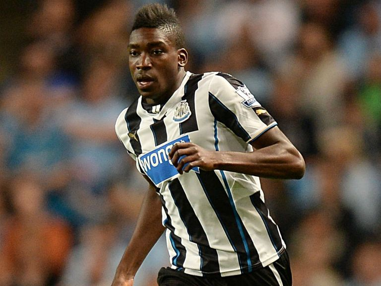 Sammy Ameobi: Delighted manager Alan Pardew