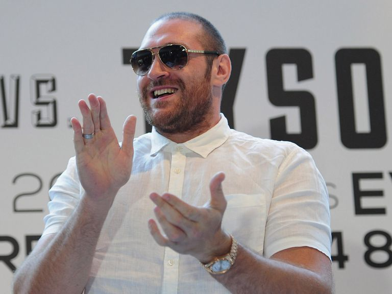 Fury: Still wants to fight Haye