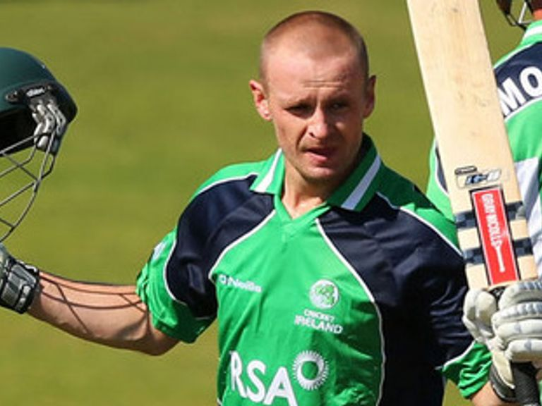 William Porterfield: Will lead Ireland's challenge