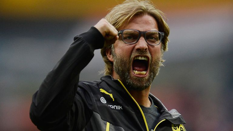 Jurgen Klopp: Prefers a 'fighting' style at Borussia Dortmund over 'serenity football'