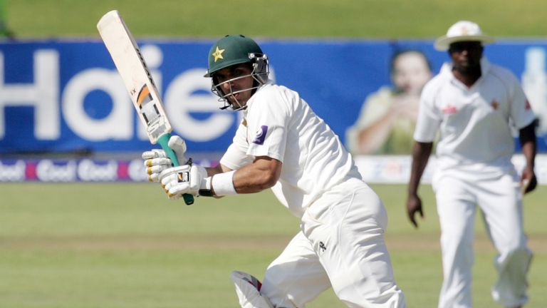 Misbah-ul-Haq: Scored his first century since May 2011 on day three against South Africa