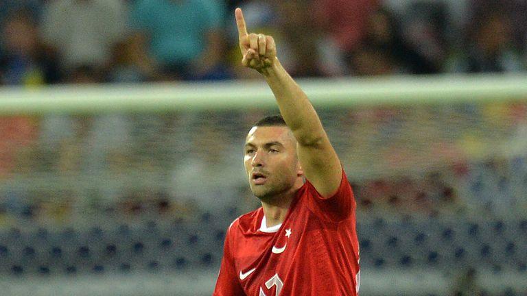 Burak Yilmaz: Was on the scoresheet for Turkey