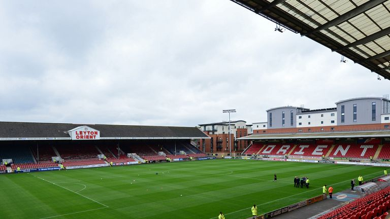 The Matchroom Stadium: Orient v City clash called off