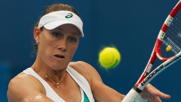 Sam Stosur: Into the Japan Open final