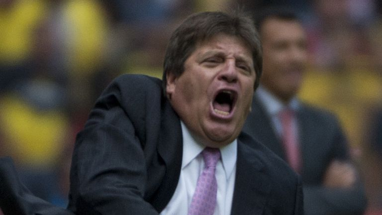 Miguel Herrera: Has become the new manager of the Mexico national team