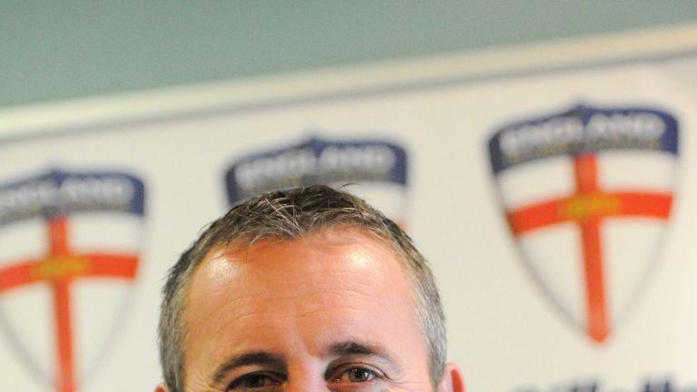 Steve McNamara: In confident mood ahead the World Cup which starts later this month