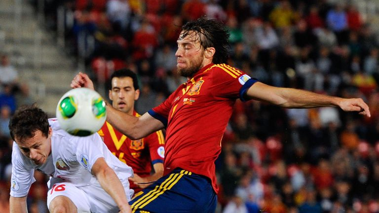 Michu: In action for Spain