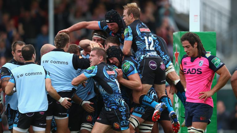 Exeter Chiefs: Looking to upset the odds again when they play Glasgow this weekend