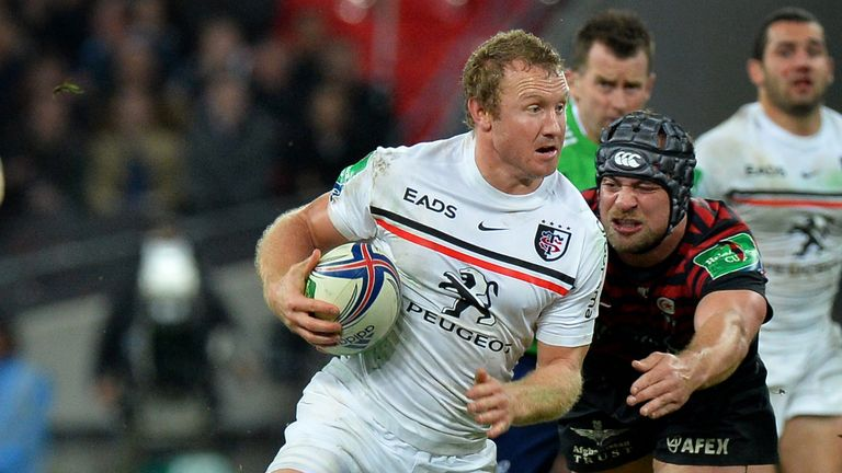 Jano Vermaak: Will start for Toulouse