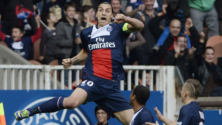 Zlatan Ibrahimovic: Netted twice, one a stunning backheel