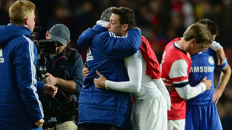 Jose Mourinho: Wary of the threat posed by Mesut Ozil