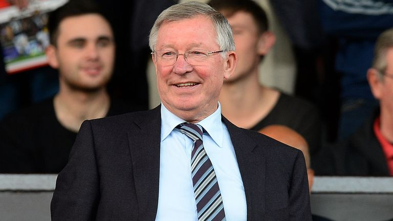 Sir Alex Ferguson: Former Manchester United boss is a regular viewer from the stands