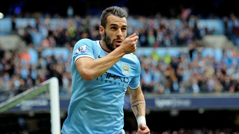 Alvaro Negredo: Confident of leading the line for Spain