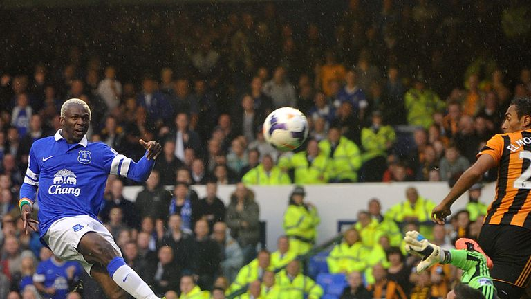 Arouna Kone: Yet to find the net for Everton