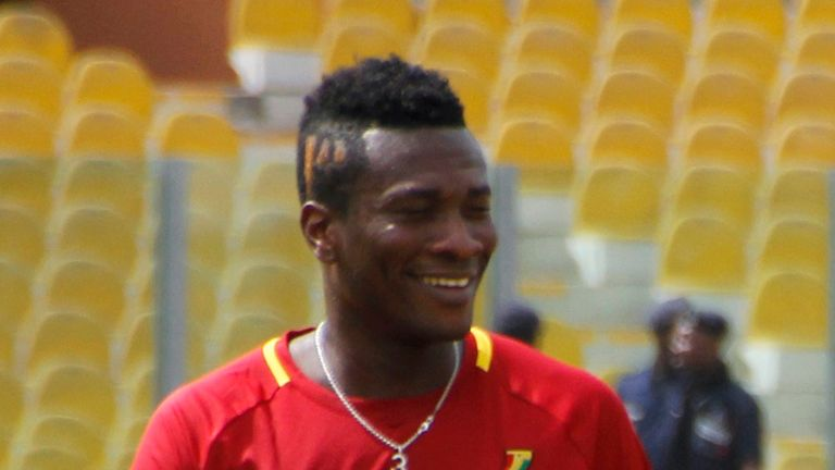 Asamoah Gyan: Called for concentration