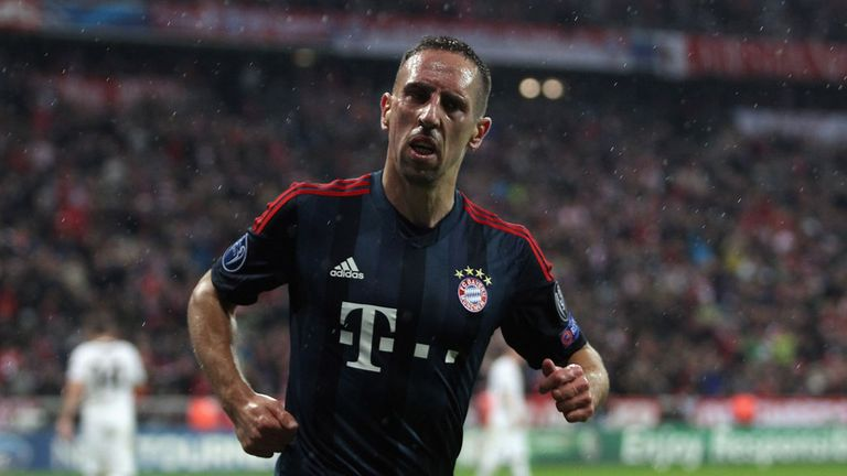 Franck Ribery: In contention for the the Ballon D'or