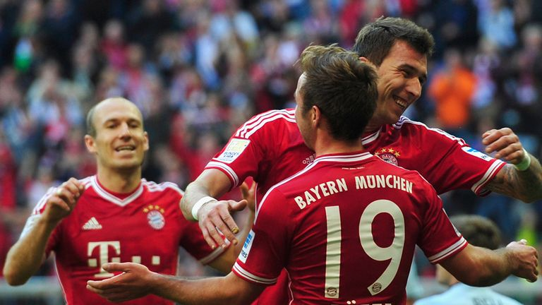 Mario Mandzukic: Opened the scoring for Bayern Munich
